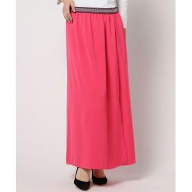 (チチカカ) サイドスリットマキシスカート HSCBC138 FREE ピンク