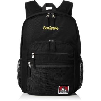 [ベンデイビス] リュック XLサイズ メッシュポケット リュックサック 通勤通学に最適です BDW-9200_BKYL ブラックイエロー