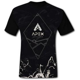 メンズ 半袖Tシャツ Apex Legends 夏服 短袖 Tシャツ 半袖トップス スポーツショートスリーブ T-Shirt