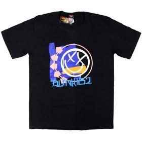 バンドTシャツ ロックTシャツ Blink-182 ブリンク 182 Mサイズ 黒色