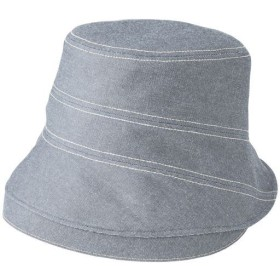 岡山児島デニムのお出かけ帽子 - セシール ■カラー:グレー