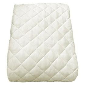 EiYU 洗える ベッドパッド防カビ・抗菌・防臭仕様敷布団兼用 アイボリー ワイドキング