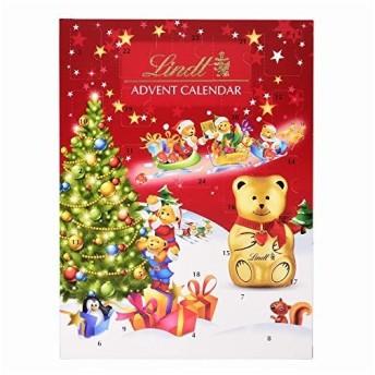 リンツ クリスマス テディアドベントカレンダー 172g