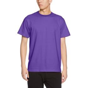 (ユナイテッドアスレ)UnitedAthle 5.6オンス ハイクオリティー Tシャツ 500101 539 バイオレットパープル M