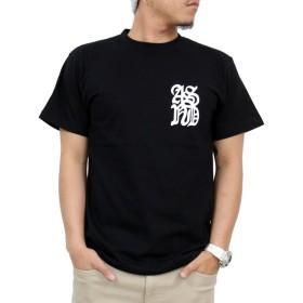 (アスナディスペック)ASNADISPEC tシャツ メンズ 大きいサイズ 半袖 ストリート系 プリント t-シャツ おしゃれ as-rem-5102 (L, BLACK)