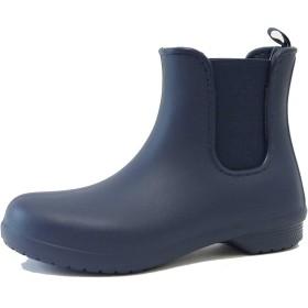 クロックス crocs フリーセイル チェルシー ブーツ ウィメン 204630 (レディース)(ネイビー W8(24cm))