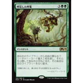 MTG マジック:ザ・ギャザリング 呼応した呼集(レア) 基本セット2020(M20-193)   日本語版 インスタント 緑