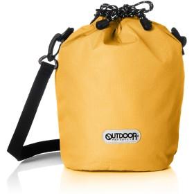 [アウトドアプロダクツ] ショルダーバッグ レティキュール 小型 巾着 斜め掛け モバイル収納 マスタード