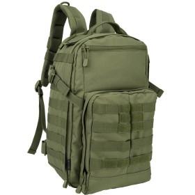 Oleader 30L戦術リュック 大容量 迷彩 無地 多ポケット 防水加工 アウトドア 登山 普段用 軍事ファン向け グリーン