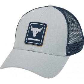 アンダーアーマー Under Armour メンズ キャップ 帽子 Project Rock Above The Bar Trucker Hat Mod Gray