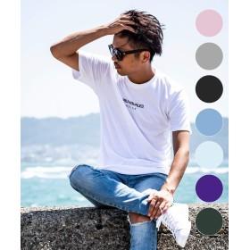 1PIU1UGUALE3 RELAX(ウノピゥウノウグァーレトレ) フロントロゴプリントTシャツ ust-813w ホワイトL
