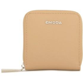 [エモダ] 二つ折り財布 レディース EM-9715 【20】ベージュ
