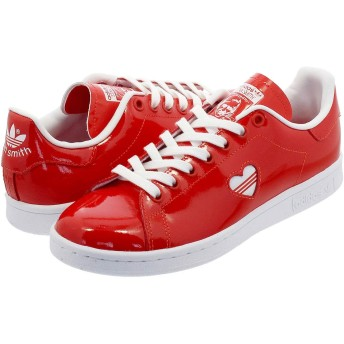 [アディダス] STAN SMITH W ACTIVE RED/RUNNING WHITE/ACTIVE RED 23.5cm