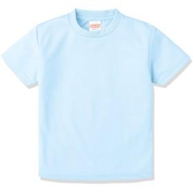 (ユナイテッドアスレ)UnitedAthle 4.1オンス ドライ アスレチック Tシャツ 590002 [キッズ] 488 ライトブルー 120