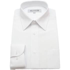 (ブルーム) BLOOM オリジナル 長袖 ワイシャツ 白シャツ 形態安定 レギュラーカラー S