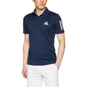 [アディダス] テニスウェア CLUB 3STR ポロシャツ [メンズ] FRW69 カレッジネイビー/ホワイト (DU0850) 日本 J/S (日本サイズS相当)