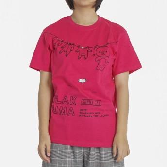 リラックマ tシャツ 半袖 メンズ レディース ユニセックス jrx8302 L ピンク14