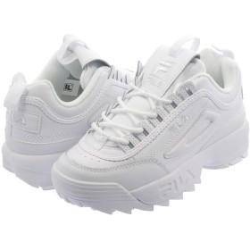 [フィラ] DISRUPTOR 2 PREMIUM WHITE/WHITE F0392 0100-23.0cm