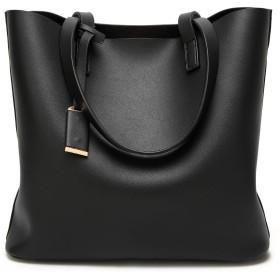 DOODOO レディース ハンドバッグ ポシェット ミニ ショルダー 肩掛け 斜めかけ Shoulder Hand Bag for Women ブラック