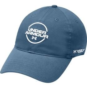 アンダーアーマー Under Armour メンズ キャップ 帽子 Jordan Spieth Washed Cotton Golf Hat Thunder/White