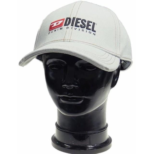 DIESEL ディーゼル メンズキャップ C-BLEACH HAT / 00SQJR 0LAUM ウォッシュドブルー