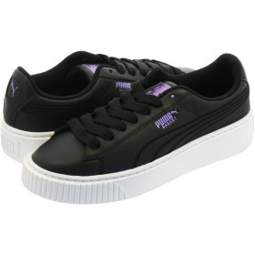 [プーマ] PLATFORM TWILIGHT WMNS BLACK/SWEET LAVENDER 23.0cm