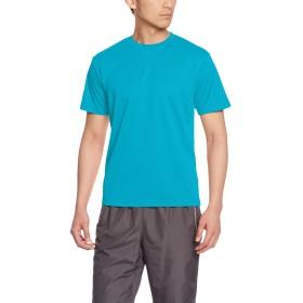 [グリマー] 半袖 4.4oz ドライTシャツ (クルーネック) 00300-ACT ターコイズ M (日本サイズM相当)