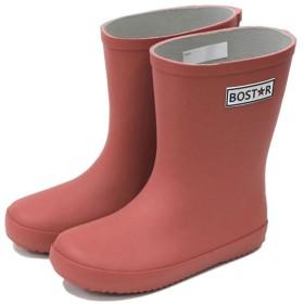[ボストアール] キッズ 長靴 BOST-R 子供 男の子 女の子 レインブーツ (13cm-23cm) 16cm,テラコッタ/レッド