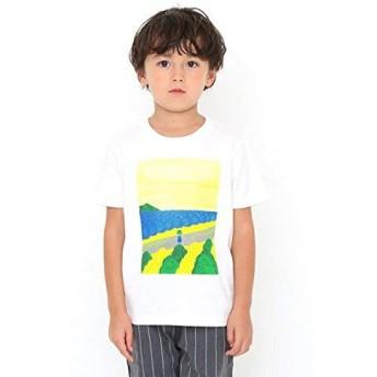 (グラニフ) graniph コラボレーション キッズ Tシャツ キャベツくん (長新太) (ホワイト) 140 (g28) #おそろいコーデ #▲