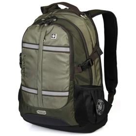 SWISSWIN リュックサック メンズ ビジネスバッグ 大容量 通勤 通学 2色 SW8350 アーミーグリーン
