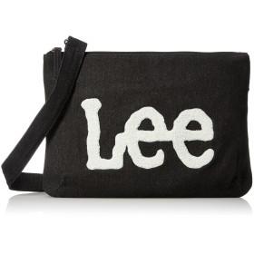 LEE リー ショルダーバッグ サコッシュ デニム ロゴもこもこサガラ刺繍