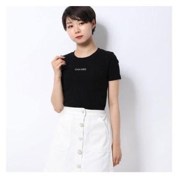 スピーガ SPIGA 胸ロゴ無地Tシャツ (クロ)