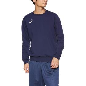 [アシックス] トレーニングウエア スウェットシャツ 2031A241 [メンズ] ピーコート 日本 S (日本サイズS相当)