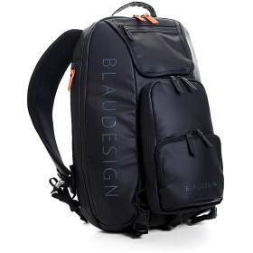 【ブラウデザイン】 BLAUDESIGN City Tourist 3WAYバックパック 旅行 メンズ 多機能バッグ リュックサック 通勤バックパック ボディバッグ (ブラック/オレンジ)