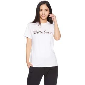 [ビラボン] [レディース] 半袖 プリント Tシャツ (プリント)[ AI014-200 / SS TEE SHIRTS ] サーフ かわいい WHT_ホワイト US M (日本サイズM相当)