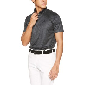 [adidas Golf(アディダスゴルフ)]ポロシャツ 半袖 AD19SS FVE71 M CBマップ S/S シャツ DW6249 メンズ カーボン 日本 M (日本サイズM相当)