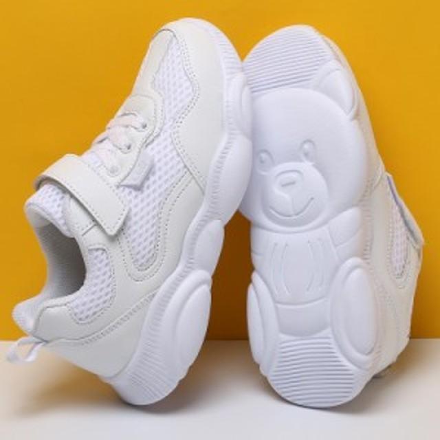 スニーカー 学生 メッシュシューズ メッシュ 耐磨耗性 子供靴 滑り止め 軽量 透気 防臭 2019年新作 カジュアル 快適 衝撃吸