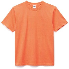 LIFEMAX(ライフマックス)6.2オンス ヘビーウェイトTシャツ S ネオンオレンジ ms1149