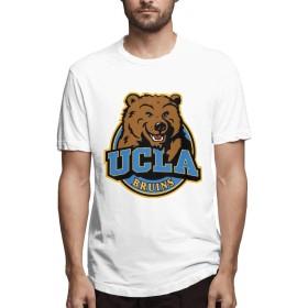 UCLAソフトボールメンズファッションTシャツコットンカジュアル半袖L