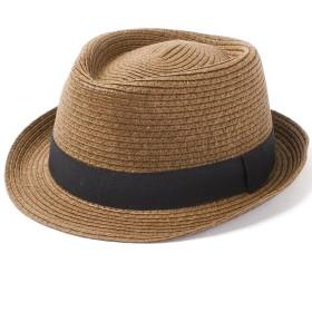 ベーシックエンチ Short Brim Hat ハット 57cm 59cm フリーサイズ メンズ BROWN