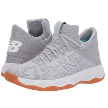 [ニューバランス] メンズ 男性用 シューズ 靴 スニーカー 運動靴 FREEZBv2 Lacrosse - Grey/White 8.5 EE - Wide [並行輸入品]