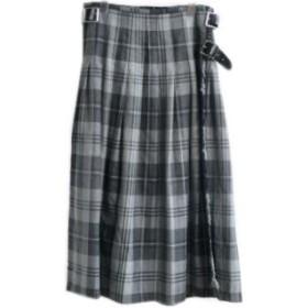 サイズ XS 980C.GLENMALUR PASS [NOD0853] O'NEIL OF DUBLIN(オニールオブダブリン) プリーツラップスカート/巻きスカート