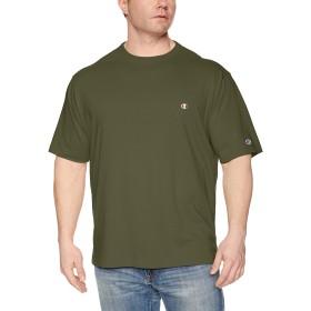 [チャンピオン] ワンポイントロゴTシャツ ベーシック 大きいサイズ C3-P300L メンズ ダークグリーン 日本 3L (日本サイズ3L相当)