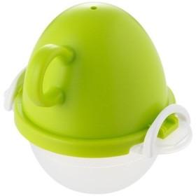 ez egg レンジでゆでたまご1個用 グリーン EZ-281
