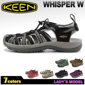 キーン スポーツサンダル ウィスパー W WHISPER W レディース サンダル 靴 シューズ アウトドア KEEN ブランド