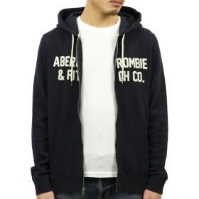 [アバクロ] Abercrombie&Fitch 正規品 メンズ ジップアップパーカー GRAPHIC FULL-ZIP HOODIE 122-232-0799-200 S 並行輸入品 (コード:4119370242-2)