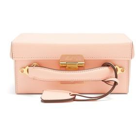 (マーククロス) Mark Cross Grace small pebble-leather shoulder bag Peach-pink 小さな小石 - 革のショルダーバッグピーチピンク (並行輸入品)