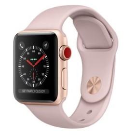 Apple Watch Series 3 GPS+Cellularモデル 38mm MQKH2J/A ピンクサンドスポーツバンド 未使用 送料無料(銀行振込、コンビニ払のみ)