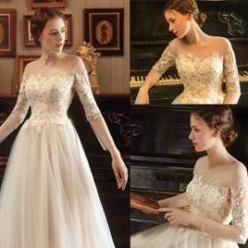 ロングドレス パーティー ウエディング 結婚式  発表会 韓国 大きいサイズ 白