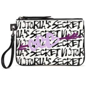 VICTORIA'S SECRET (ヴィクトリアシークレット) ポーチ リストレット Graffiti Night Out Wristlet [並行輸入品]